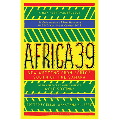 Africa39 anthology book cover