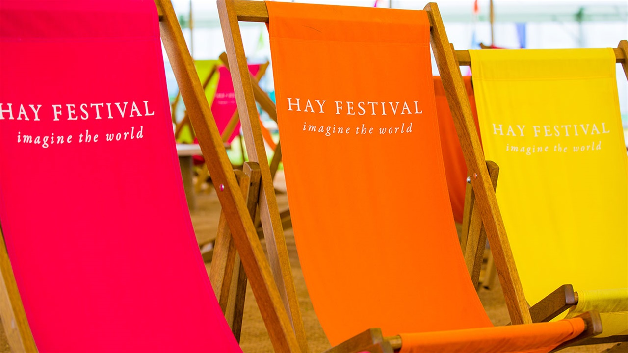 Colourful Hay deckchairs