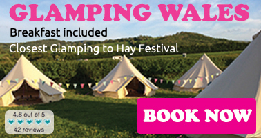Glamping Wales, Hay-on-Wye