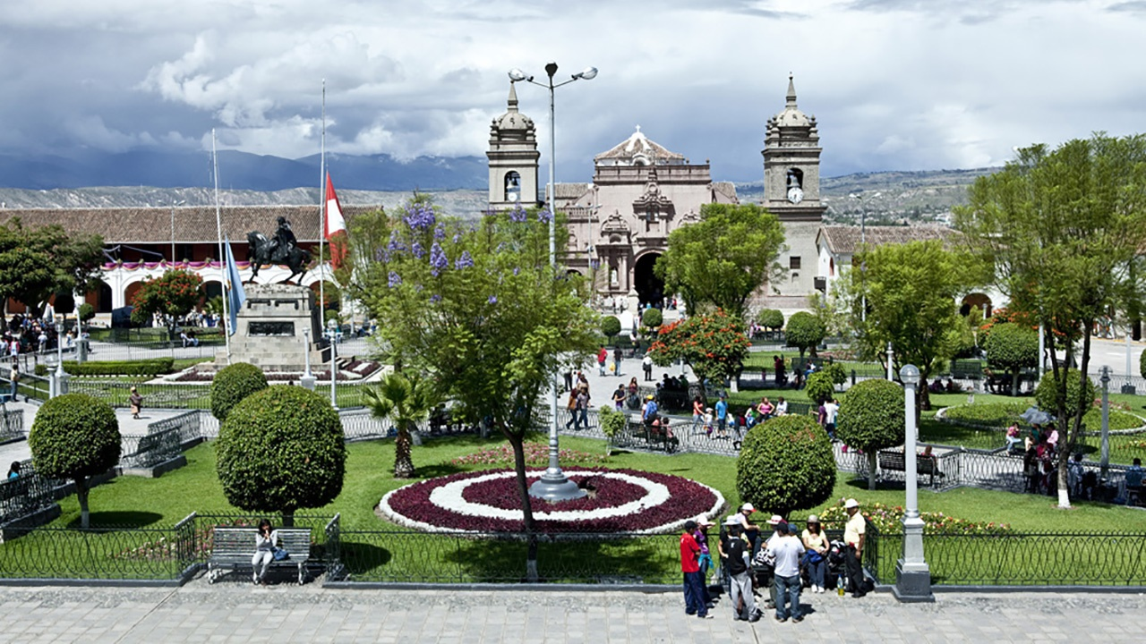 Ayacucho city centre