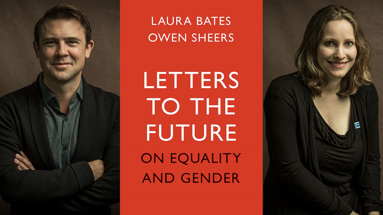 Owen Sheers and Laura Bates book Letters to the Future