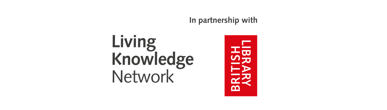 Library Live Stream sponsors – Living Knowledge Network & British Library