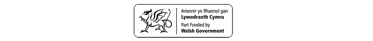 Part funded by Welsh Government logo