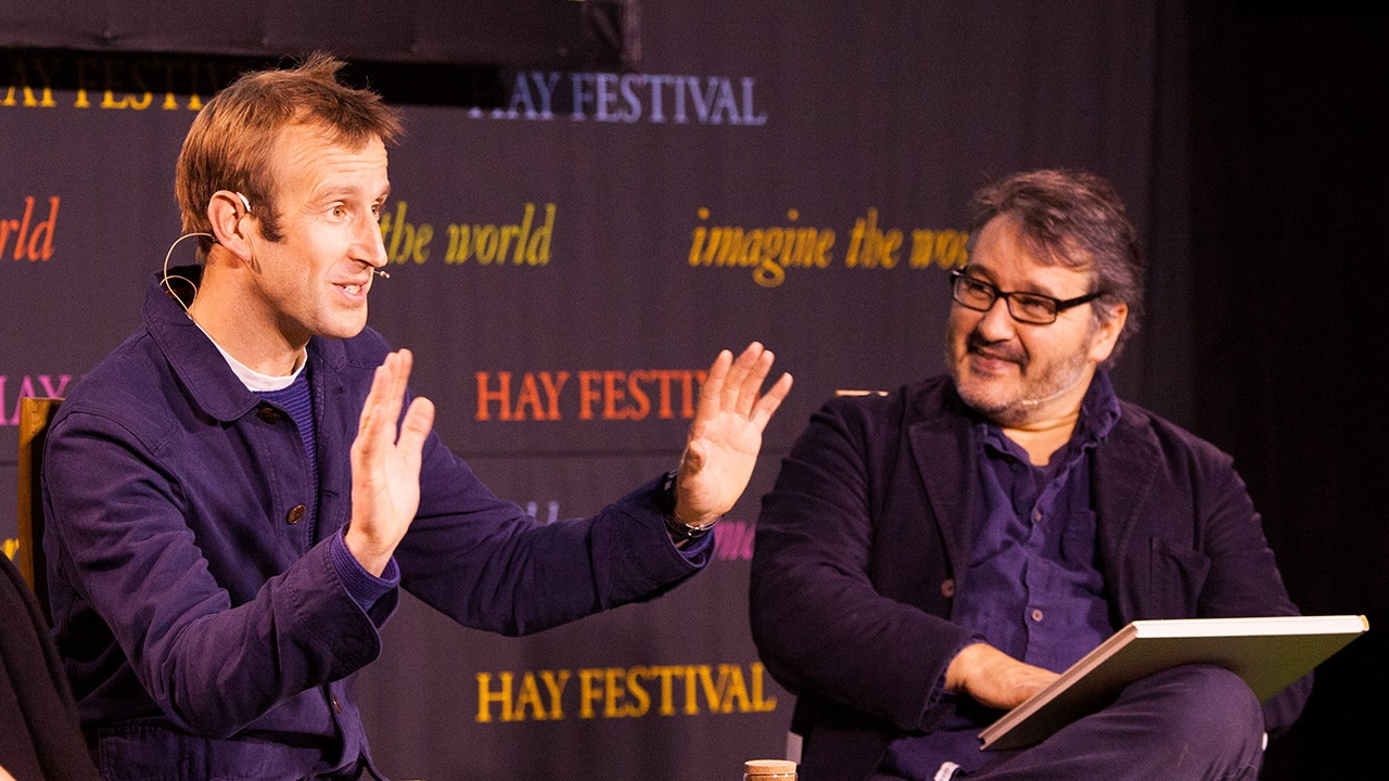 Robert Macfarlane speaks to Peter Florence at Hay Festival