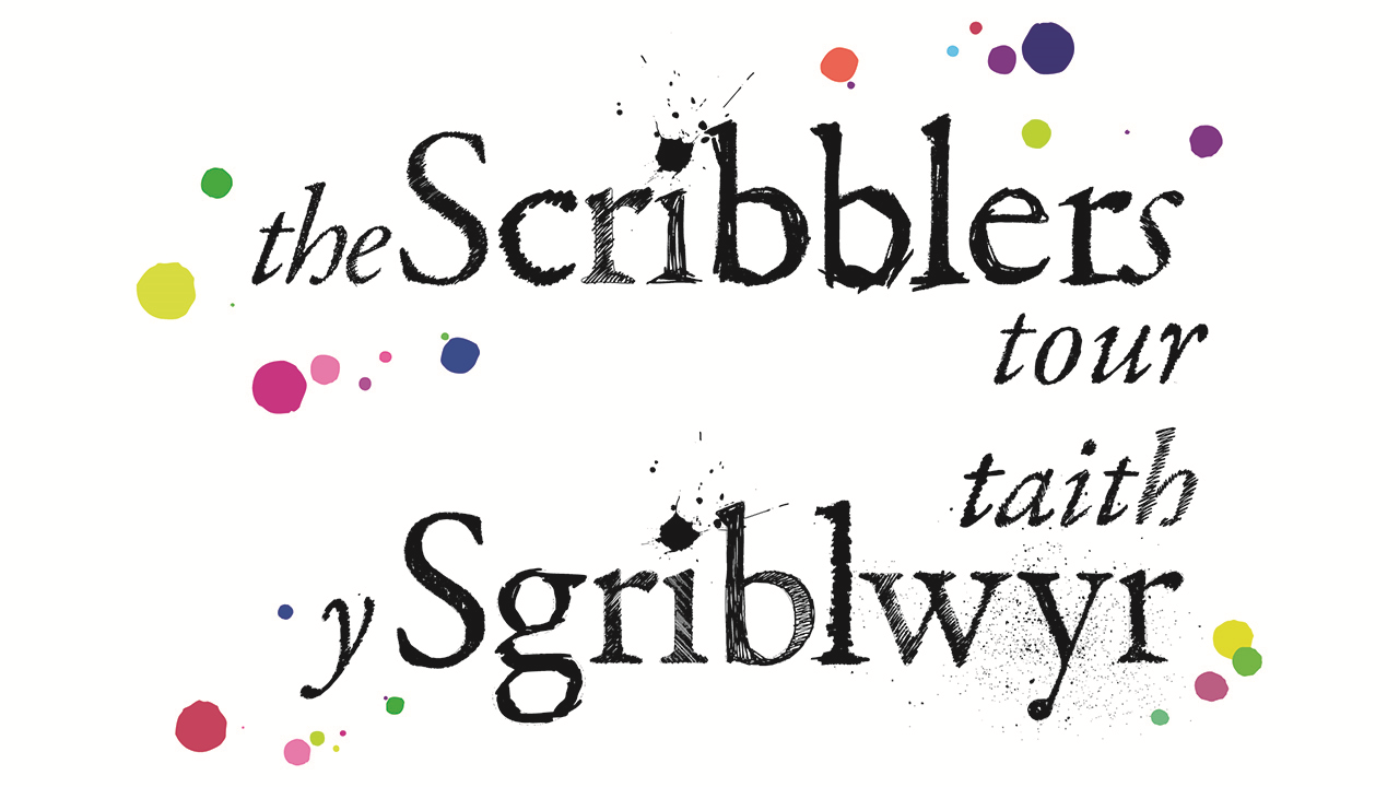 The Scribblers Tour to schools in Wales