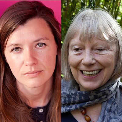 Writers Sheila Rowbotham and Naomi Wood