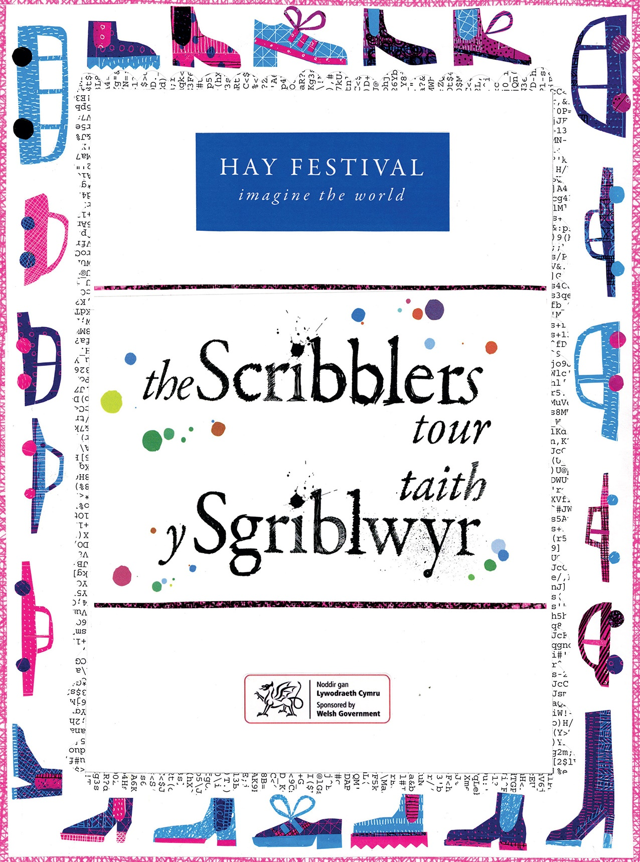 The Scribblers Newspaper 2018 cover