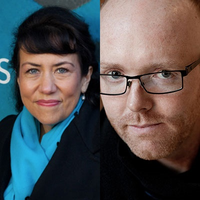 Escritores Alison MacLeod y William Atkins