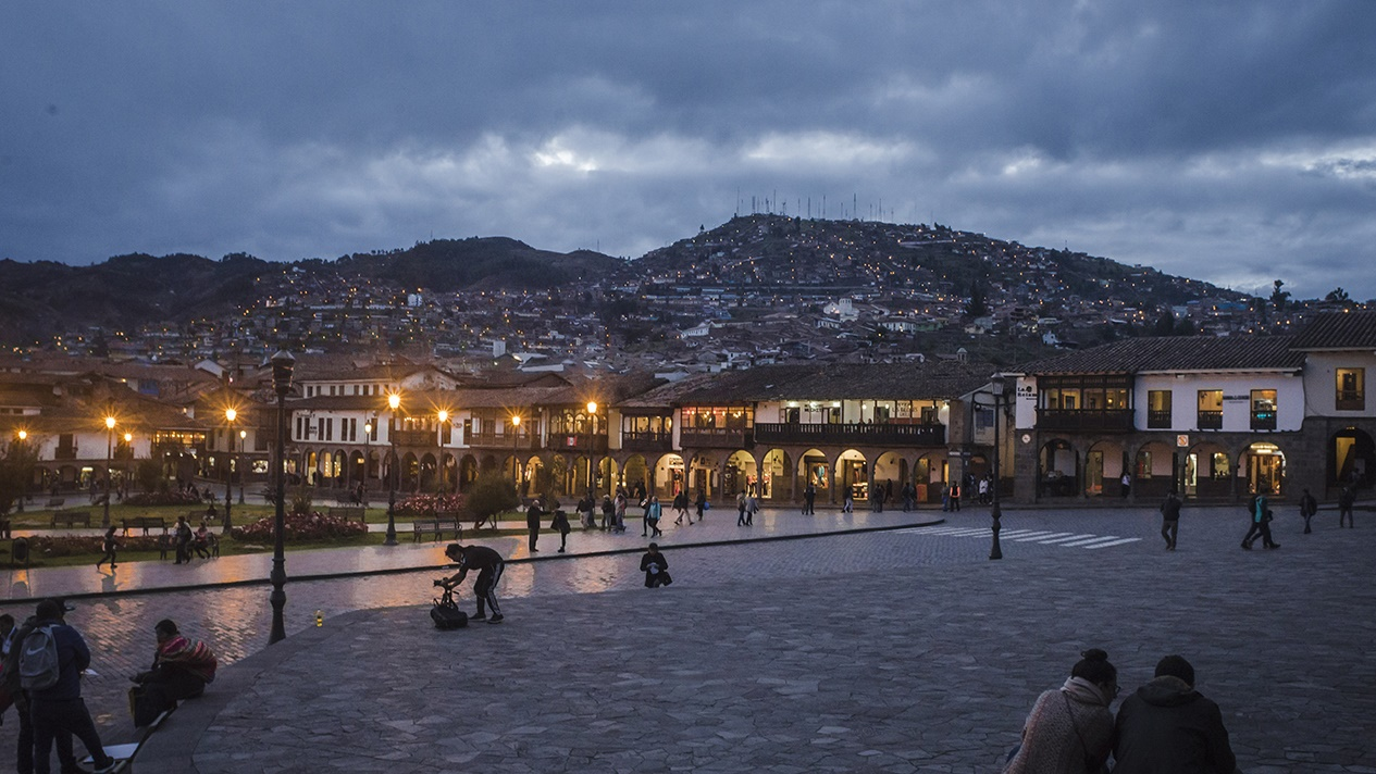 Cusco in the evening