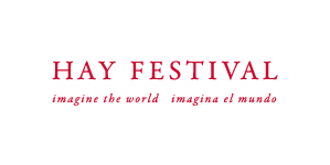 Hay Festival English and Spanish logo red