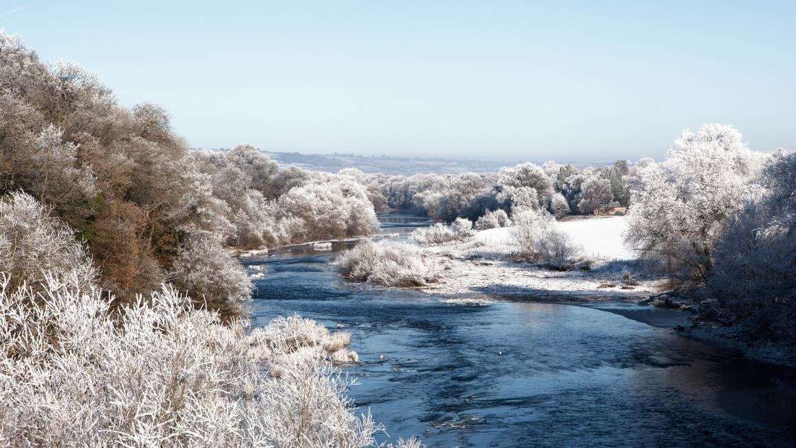 River Wye in winter