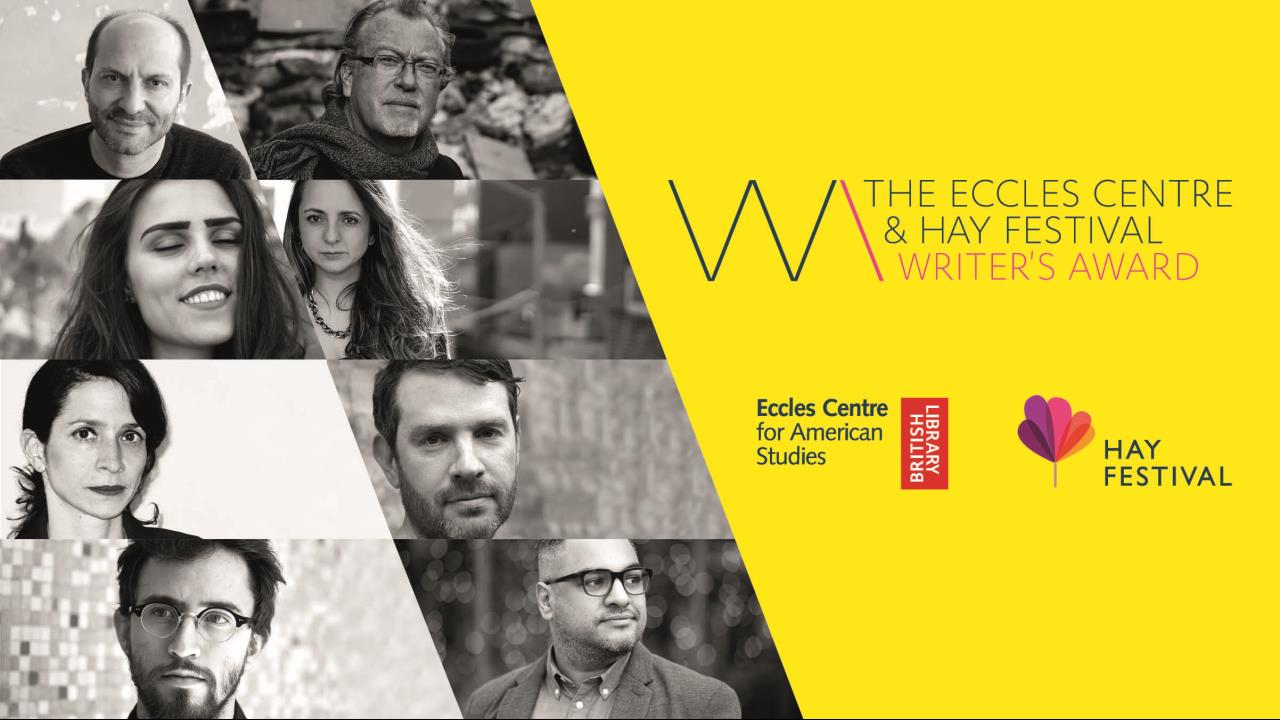 Shortlist for £20,000 Eccles Centre & Hay Festival Writer's Award revealed