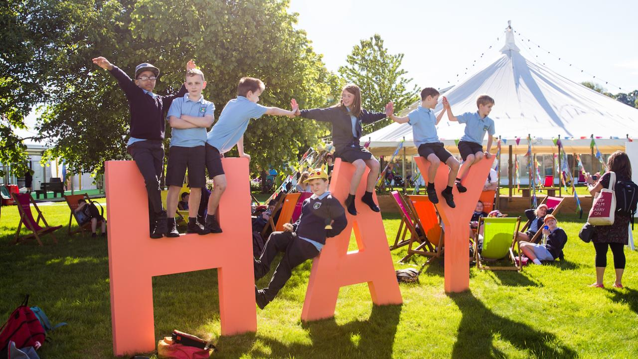 Hay Festival Wales Programme for Schools revealed