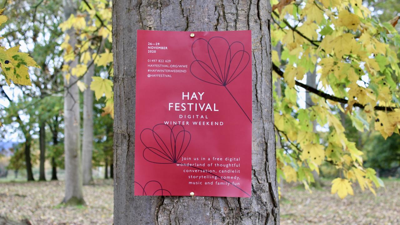 HAY FESTIVAL DIGITAL WINTER WEEKEND PROGRAMME UNVEILED