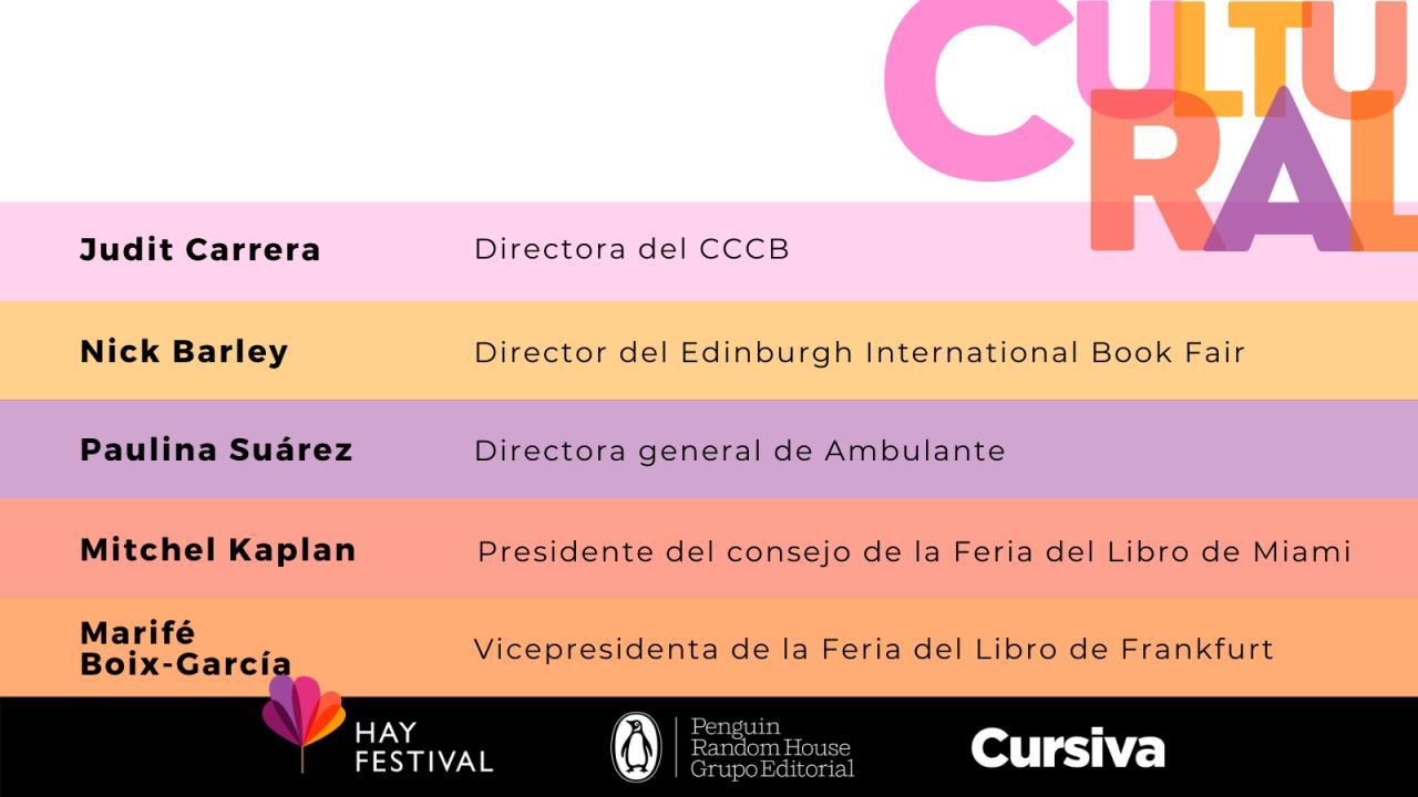 Hay Festival y Cursiva crean un curso de Gestión Cultural