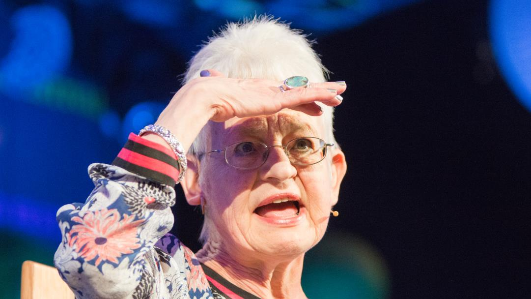 Jacqueline Wilson delights the youngsters