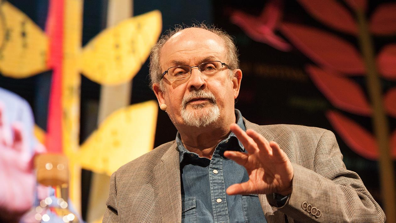 Salman Rushdie warns his Hay audience about the anti-intellectual mood sweeping the world.