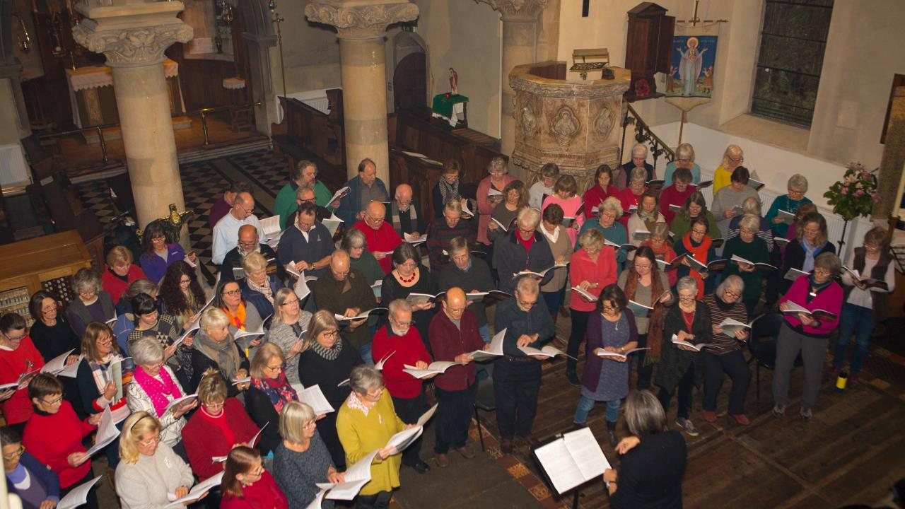 Festival choir closes a weekend of wonders