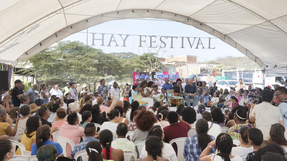 More than 60,000 attend Hay Festival in Colombia