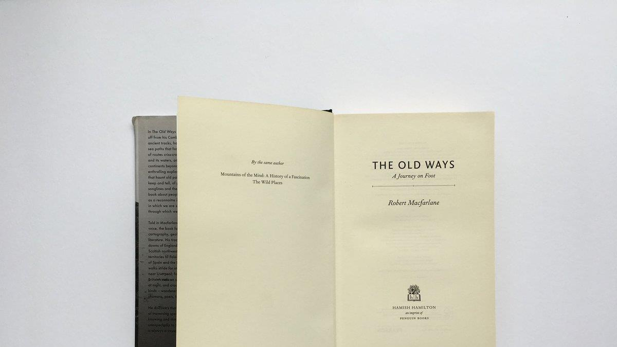 The Old Ways - Paths