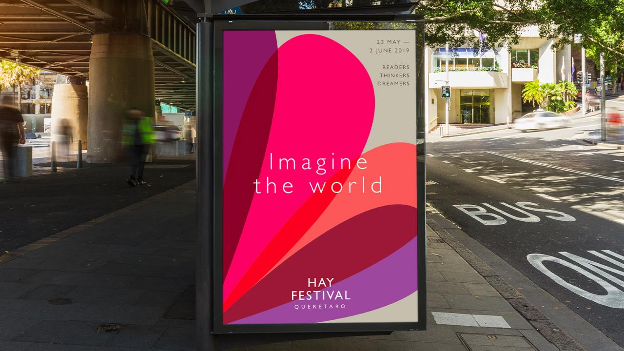 New look for Hay Festival