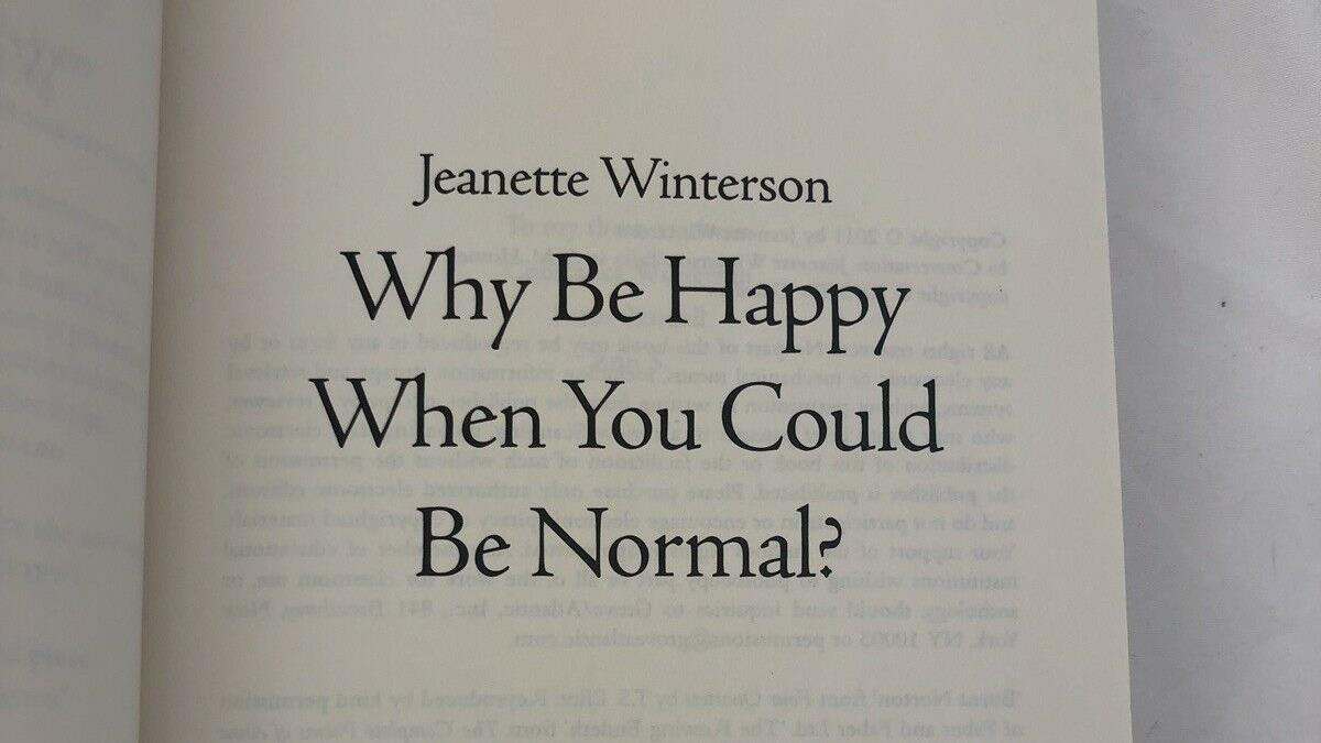 Why be happy?