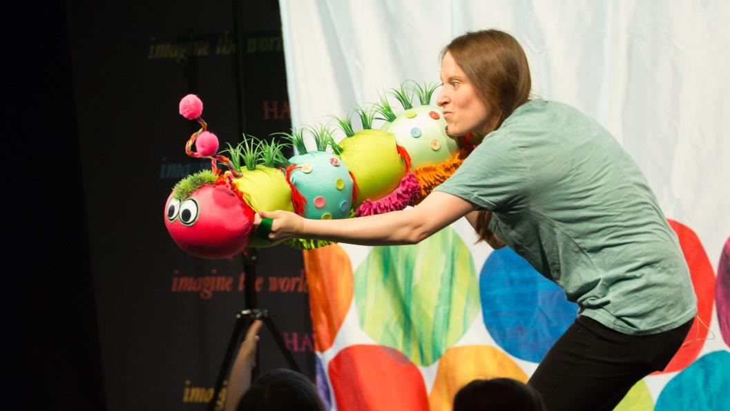 The Very Hungry Caterpillar chomps his way to 50 at Hay