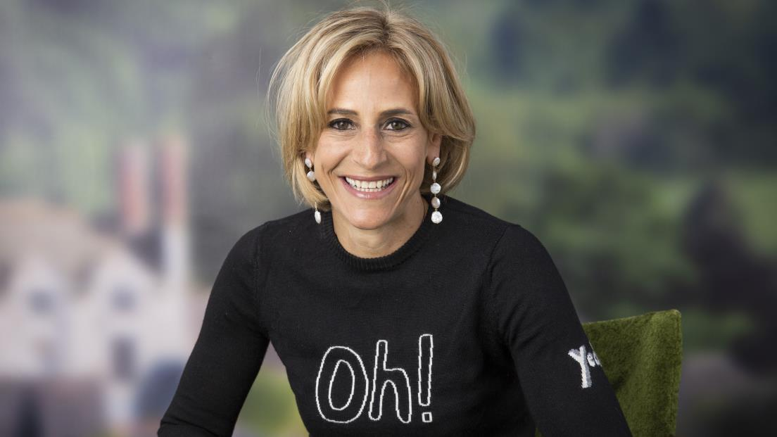 Breaking News:  Maitlis in Hay