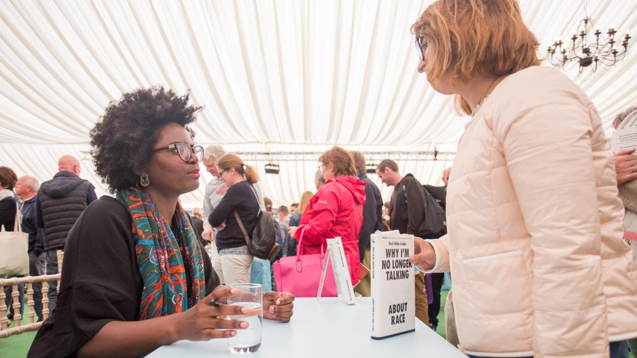 Hay Festival 2017 - Reni Eddo-Lodge - credit Chris Athanasiou