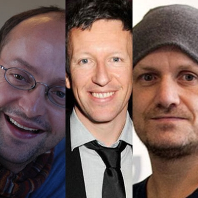 Lenny Abrahamson, Ed Guiney and Malcolm Campbell