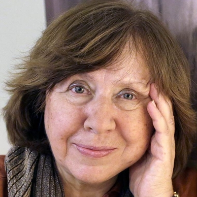 Svetlana Alexievich talks to Bridget Kendall