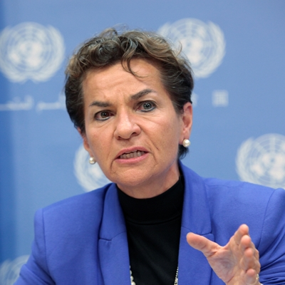 Christiana Figueres talks to Nick Stern