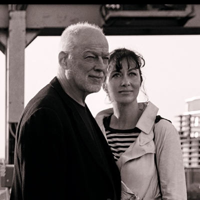 David Gilmour and Polly Samson