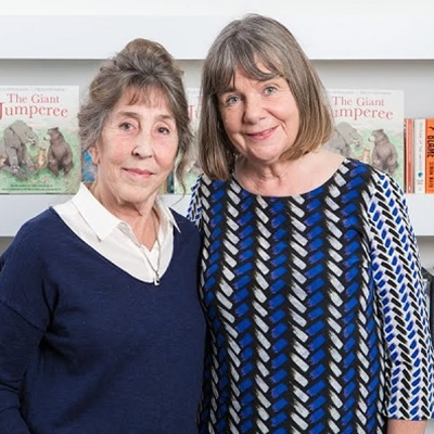 Julia Donaldson and The Giant Jumperee
