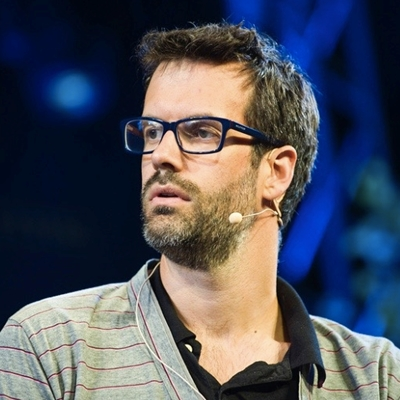 Marcus Brigstocke, Carrie Quinlan and Andre Vincent