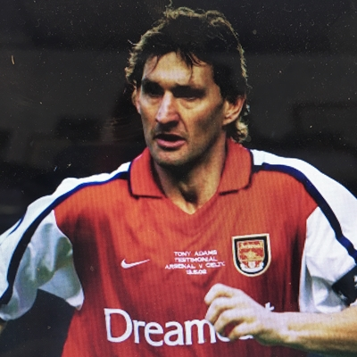 Tony Adams talks to Philippe Sands