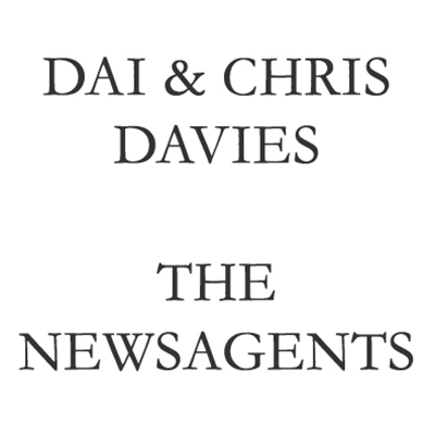 Dai and Chris Davies, The Newsagents