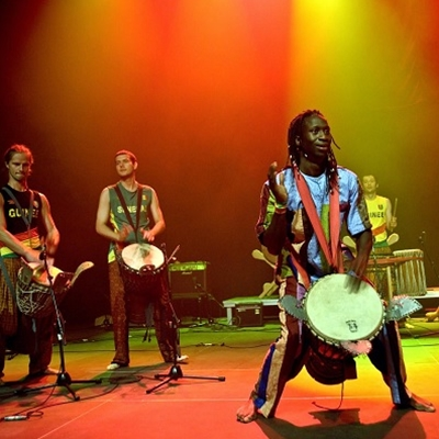 Drumming Workshops with Landing Mané