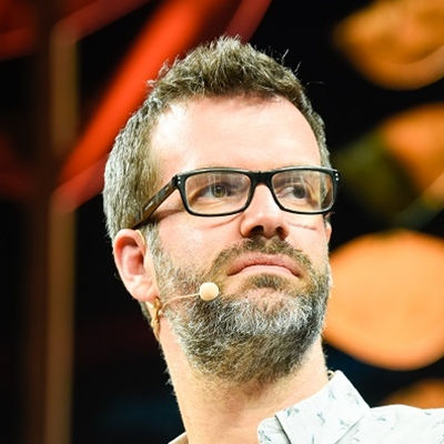 Marcus Brigstocke and David Pitt-Watson