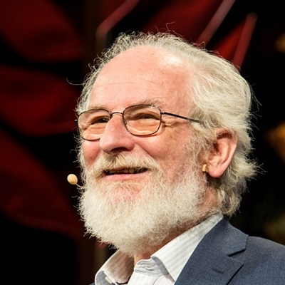 David Crystal talks to Peter Florence