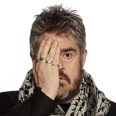 Martin Rowson and Phill Jupitus