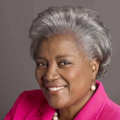 Donna Brazile talks to Helena Kennedy