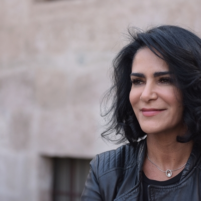 Lydia Cacho en conversación con Javier Lafuente