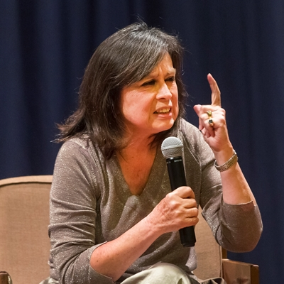 Laura Restrepo in conversation with Juan Carlos Pérez