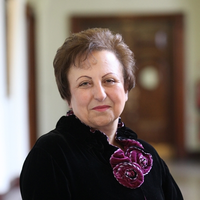 Shirin Ebadi in conversation with Catalina Gómez