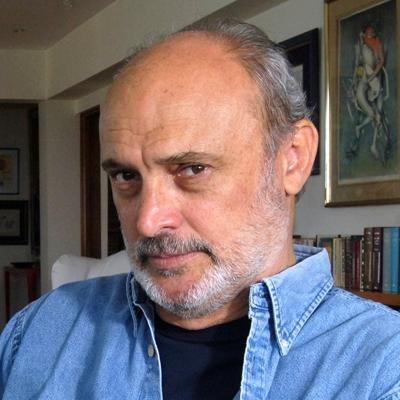 Fernando Ampuero y Tamara Kamenszain en conversación con Guido Tamayo