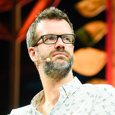Hay Festival Youth Council with Marcus Brigstocke