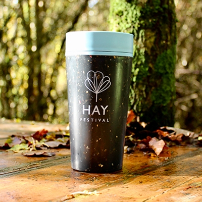 Hay Festival Reusable Coffee Cup