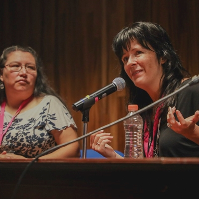Indigenous World Views. Yásnaya Elena Aguilar and Carleigh Baker in conversation with Ingrid Bejerman