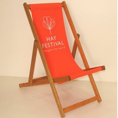 Limited Edition Hay Festival Deckchairs